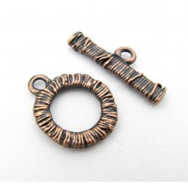 Necklace Clasp 19x15 mm., 1 pc.