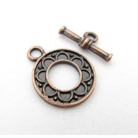Necklace Clasp 20x16 mm., 1 pc.