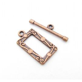 Necklace Clasp 21x12 mm., 1 pc.