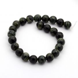 Natural Riolito Jasper beads 6 mm., 1 strand