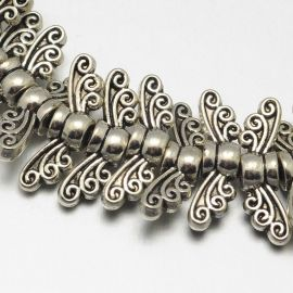 "Bead spacer ""Sparnai"" 14x4 mm., 1 pc."