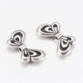 "Bead spacer ""butterfly"" sparnai 17x10x2,5 mm., 1 pc."