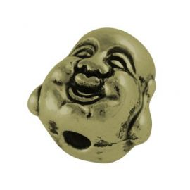 "Bead spacer ""Budos"" galva 10 mm., 1 pc."