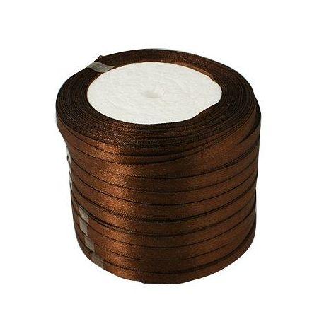 Juostelės skirtos papuošalų, rankdarbių gamyboje. Rudos spalvos, plotis ~6 mm., kaina - 0,9 Eur už 22 m.