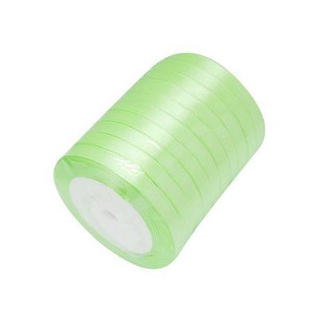 Juostelės skirtos papuošalų, rankdarbių gamyboje. Šviesiai salotinės spalvos, plotis ~6 mm., kaina - 0,9 Eur už 22 m.