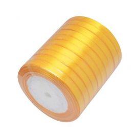 Juostelės skirtos papuošalų, rankdarbių gamyboje. Tamsiai geltonos spalvos, plotis ~6 mm., kaina - 0,9 Eur už 22 m.