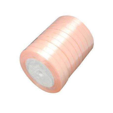 Juostelės skirtos papuošalų, rankdarbių gamyboje. Persiko spalvos, plotis ~6 mm., kaina - 0,9 Eur už 22 m.