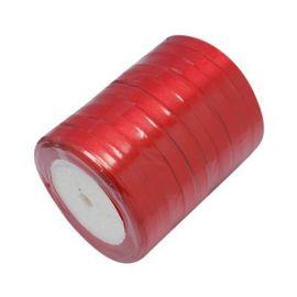 Juostelės skirtos papuošalų, rankdarbių gamyboje. Raudonos spalvos, plotis ~6 mm., kaina - 0,9 Eur už 22 m.