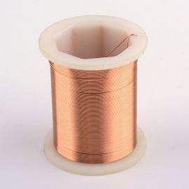 Varininės vielutės skirtos papuošalų, rankdarbių gamyboje. Vario spalvos, storis ~0.3 mm., kaina - 3,6 Eur už 50 m.