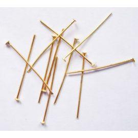 Priedai papuošalams skirti papuošalų, rankdarbių, suvenyrų gamyboje. Aukso spalvos, dydis 20x0, kaina - 0,5 Eur už ~100 vnt.