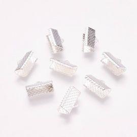 Metaliniai juostelių užspaudėjai 13x7x5 mm., 10 vnt.