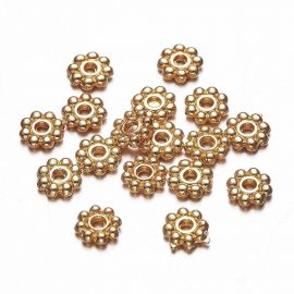 Bead spacer 5x1 mm., 10 pc.
