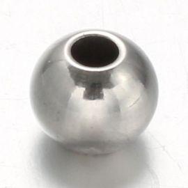 Nerūdijančio plieno 304 intarpas 6x5 mm., 10 vnt.