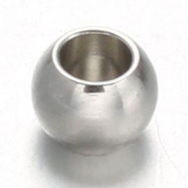 Nerūdijančio plieno 304 intarpas 8x6 mm., 1 pc.