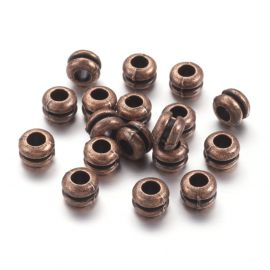 Bead spacer 7x5 mm., 6 pc.