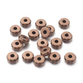 Bead spacer 8x3 mm., 6 pc.