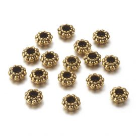 Bead spacer 6x3 mm., 10 pc.