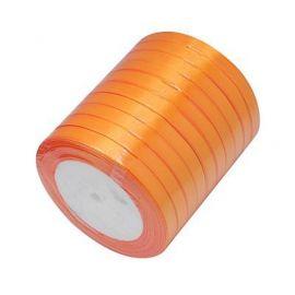 Satino juostelė skirta papuošalų, rankdarbių gamyboje. Oranžinės spalvos, plotis apie 20 mm., kaina - 1,69 Eur už 1 ritė.