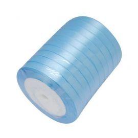 Satino juostelė skirta papuošalų, rankdarbių gamyboje. Žydros spalvos, plotis apie 20 mm., kaina - 1,69 Eur už 1 ritė.
