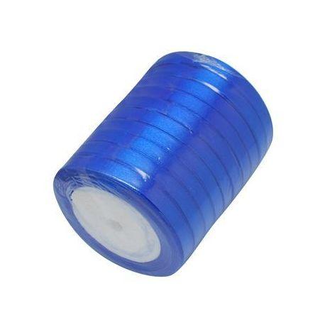 Satino juostelė skirta papuošalų, rankdarbių gamyboje. Mėlynos spalvos, plotis apie 20 mm., kaina - 1,69 Eur už 1 ritė.