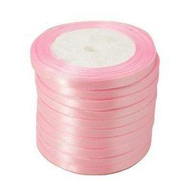 Satino juostelė skirta papuošalų, rankdarbių gamyboje. Šviesiai rožinės spalvos, plotis apie 20 mm., kaina - 1,69 Eur už 1 ritė.