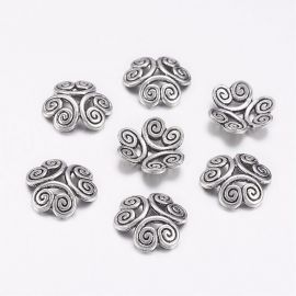 Bead cap 13x3.5 mm., 6 pc.