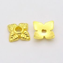 Bead cap 6x6x2 mm., 10 pc.