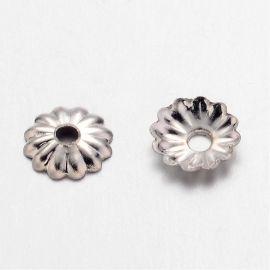 Bead cap 5x1.5 mm., 10 pc.