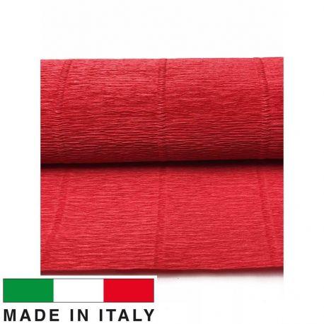 580 Cartotecnica Rossi gofruotas floristinis krepinis popierius, skirtas rankdarbiams, įpakavimams. Rausvos spalvos, kaina - 1,