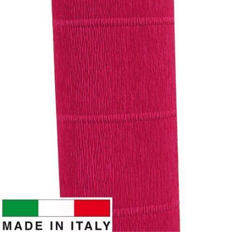 582 Cartotecnica Rossi gofruotas floristinis krepinis popierius, skirtas rankdarbiams, įpakavimams. Raudonos spalvos, kaina - 1