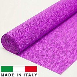 590 Cartotecnica Rossi crepe paper 2.50 x 0.50 m., 180 g.