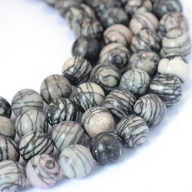 Natural Jasper beads 12 mm., 1 strand