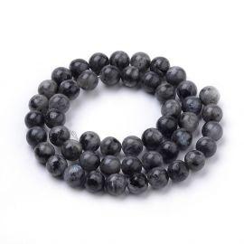 Natural Norvegiško Labradorite beads 12 mm., 1 strand