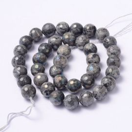 Natural Norvegiško Labradorite beads 10 mm., 1 strand