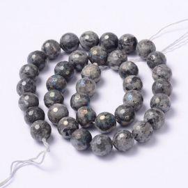 Natural Norvegiško Labradorite beads 10 mm., 1 strand