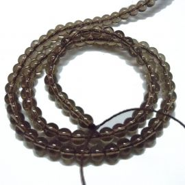 Dūminio quartz imitation 8 mm., 1 strand