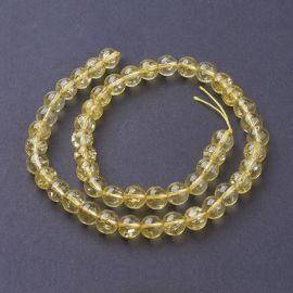 Citrino imitation 8 mm., 1 strand