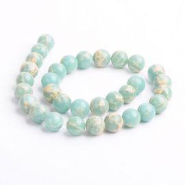 Akmeninių beads imitation 12 mm., 1 strand