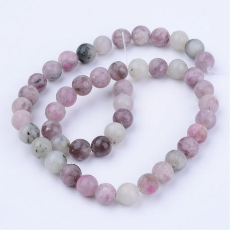 Natūralūs akmeniniai karoliukai akmenėliai apyrankėms, vėriniams, papuošalams verti ir gaminti. Violetinės - žalsvos spalvos, ap