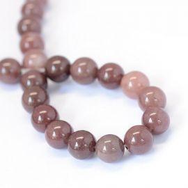 Natural Red Avanturine beads 10 mm., 1 strand