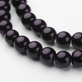 Stikliniai beads perliukai 10 mm , 1 strand