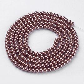 Stikliniai beads perliukai 4 mm , 1 strand