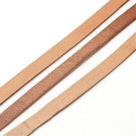Natūralios odos dirželis 3x2 mm, 1 m.