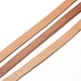 Natūralios odos dirželis 10x2 mm, 1 m.