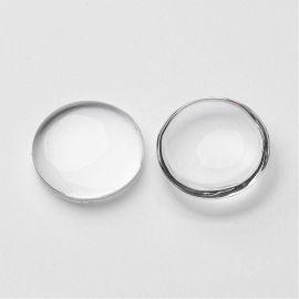 Stikliniai cabochons 18 mm., 1 pc.