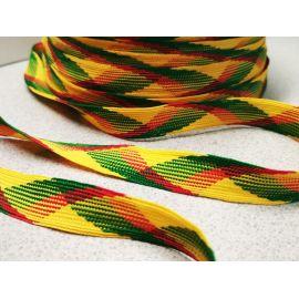 Woven Lithuanian national texture strip 14 mm, 1 m.