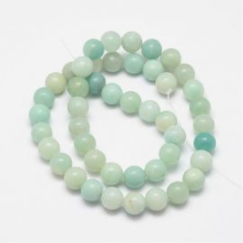 Natural Amazonite beads 10 mm., 1 strand