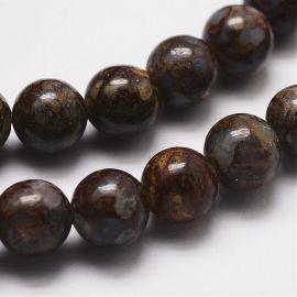 Natūralūs opalo karoliukai 8 mm., 1 gija.