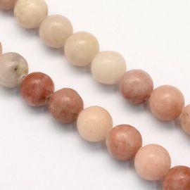 Natural Jasper beads 8 mm., 1 strand.