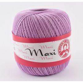 Plonas, tvirtas siūlas rankdarbiams. Madame Tricote Maxi 6308 stiprūs siūlai, 100 % medvilnė, alyvinės spalvos, 100 g. 565 metra